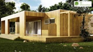 Holzhaus Natura Bianca 110