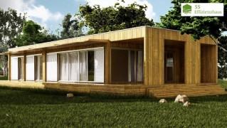Holzhaus Natura Bianca 140