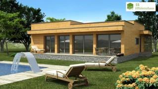 Holzhaus Natura Rosso 120
